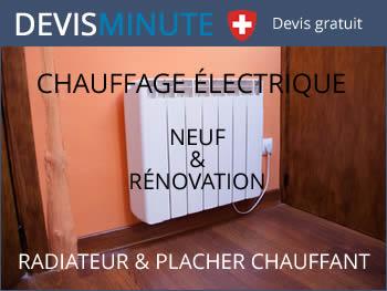 Devis installation chauffage électrique