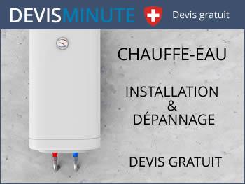 Devis installation et dépannage chauffe-eau