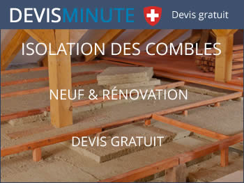 Tarif pour l 39 isolation des combles perdus et am nag s de for Devis isolation combles perdus
