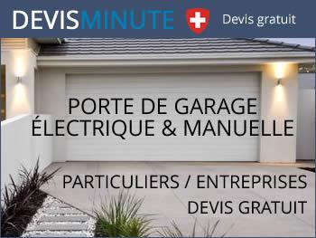 Devis et tarif porte de garage
