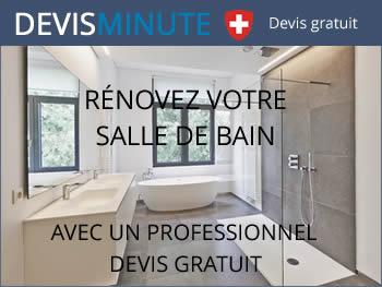 Devis gratuit rénovation salle de bain