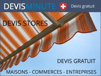 Devis installation stores