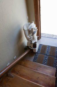 Monte escalier pour séniors